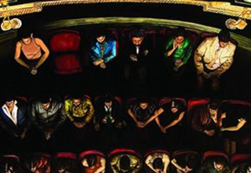 En el Museo Tamayo Arte Contemporáneo se exponen las obras de 38 jovenes pintores.