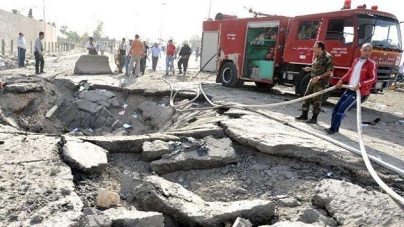 siria explosiones qazzaz