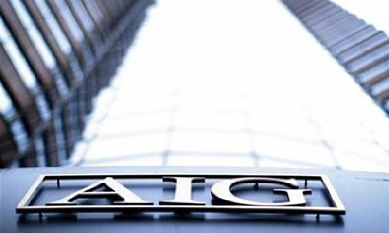 AIG trabaja en devolver el dinero que recibió del Gobierno de EU como parte de su rescate en 2008. (Foto: Reuters)