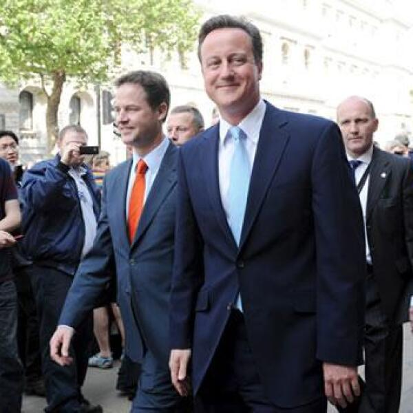 david cameron nick clegg parlamento britanico