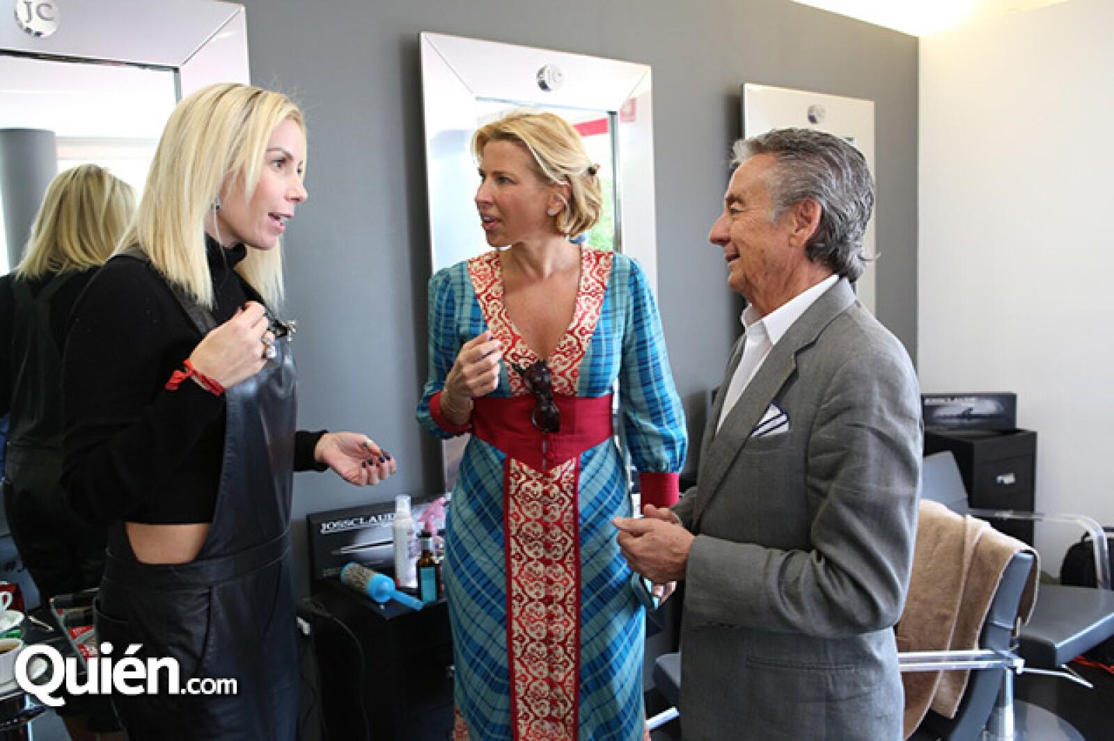 Brenda Jaed,Beatriz Pasquel y Claude Joanin