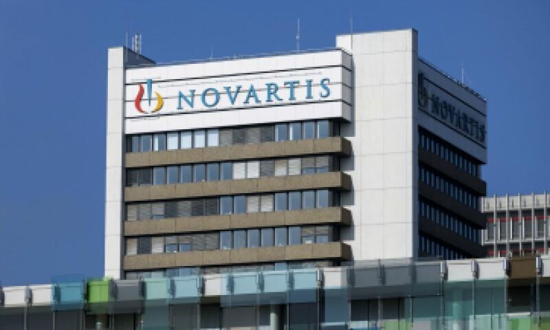 Las acciones de Novartis han caído 3.7% en lo que va del año. (Foto: AFP)