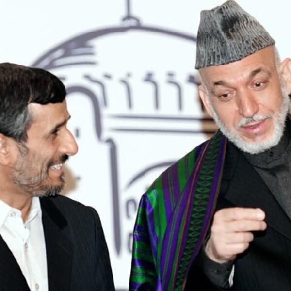Irán y Afganistán - presidentes