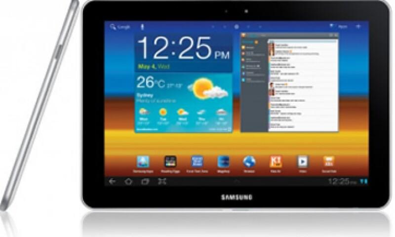 Una orden judicial favoreció a Apple al prohibir la 'tablet' de Samsung en la unión europea, salvo los países bajos. (Foto: Cortesía Fortune)