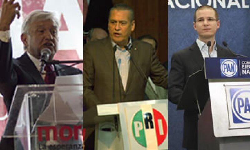Los dirigentes partidistas aplican diferentes estrategias para las elecciones (Foto: Cuartoscuro/Archivo )