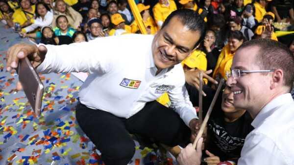 Candidatos del PAN y PRD en Estado de México