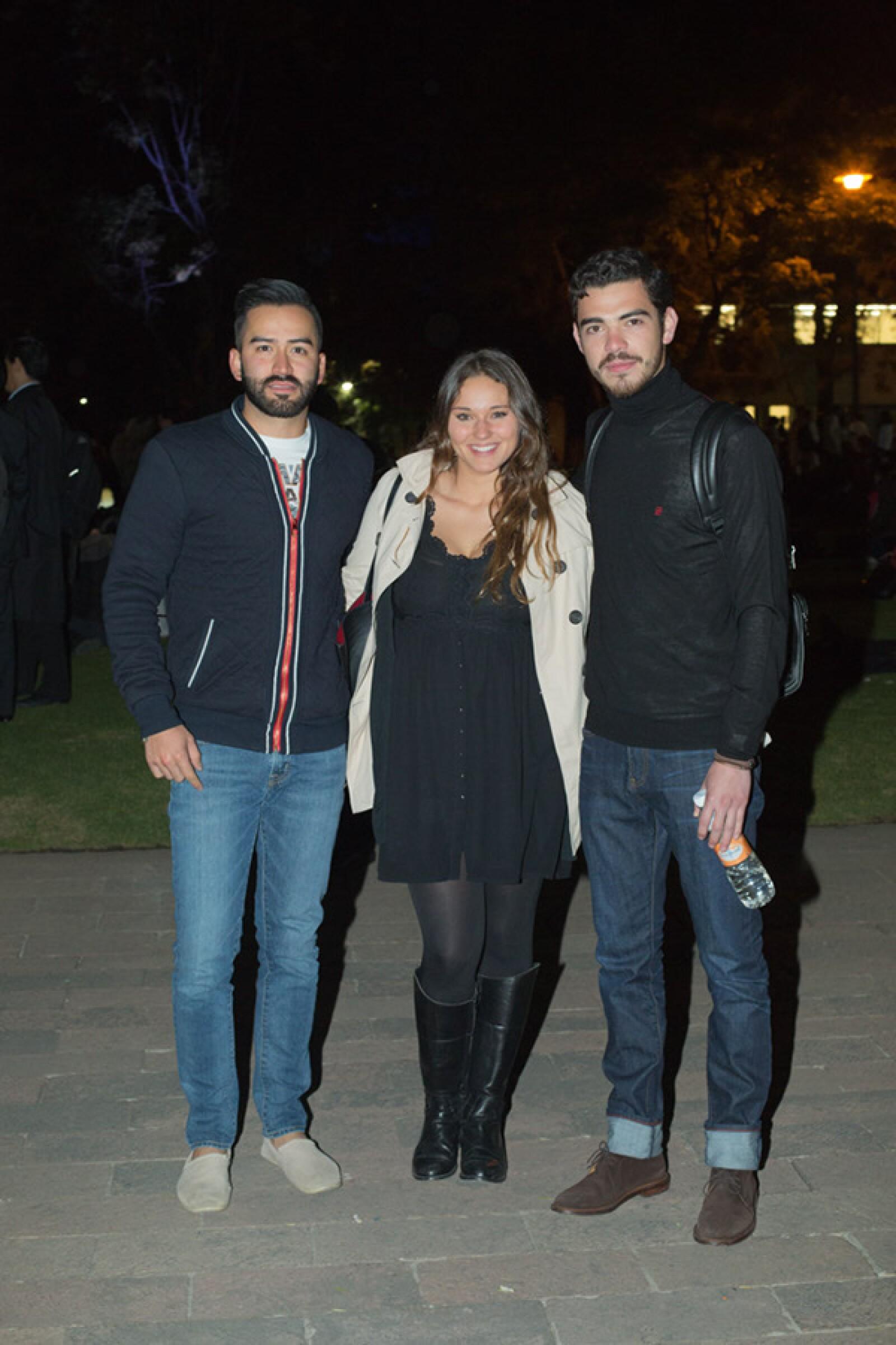 Diego Nogueira, Donette Vilalta y Gerardo Valdés