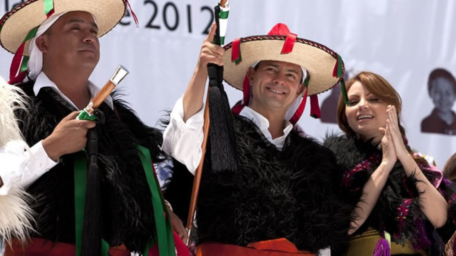 Enrique Peña Nieto visitó San Juan Chamula Chiapas