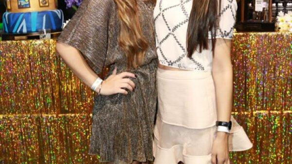 Andrea Godoy y Michelle Godoy