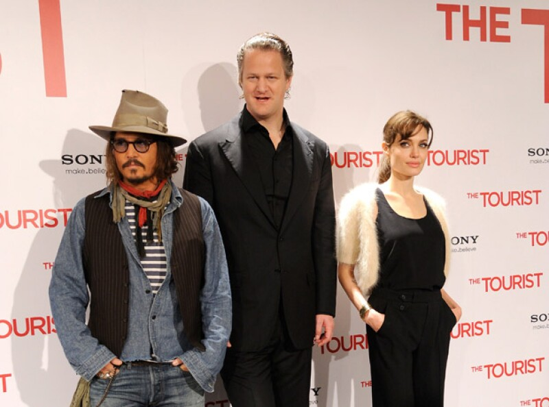 Johnny Depp y Angelina siempre mantuvieron su distancia.