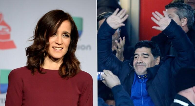 El astro del balón ha caído rendido ante la dulzura y la voz de la cantante mexicana después de que ella grabara un tema dedicado al futbol.