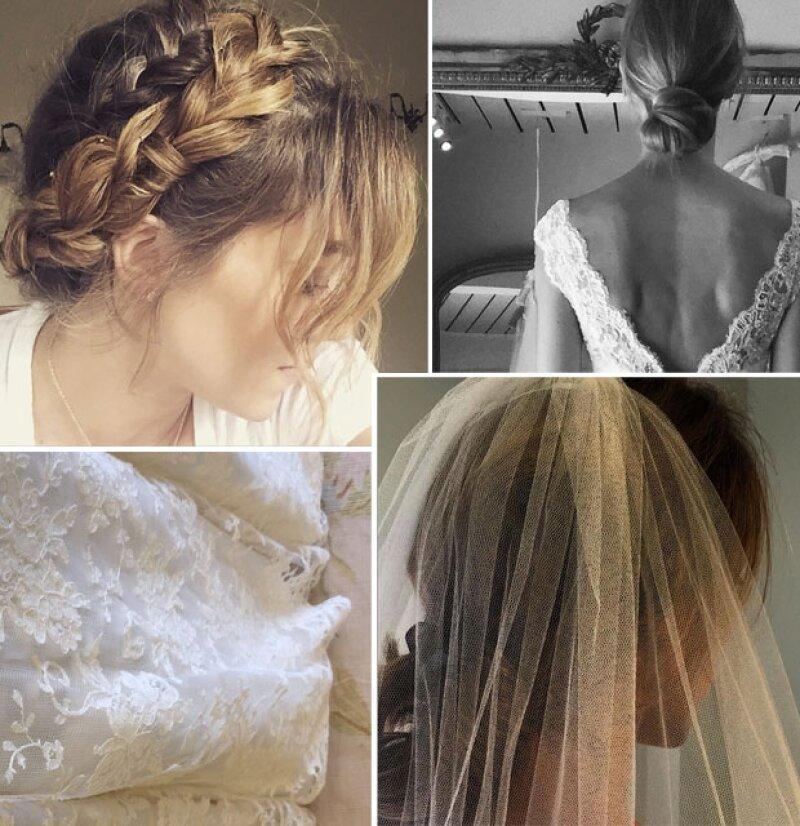 Desde hace semanas, la modelo Jacqui compartió varias fotografías en las que aparecía su vestido de novia y el posible peinado que llevaría para el gran día.