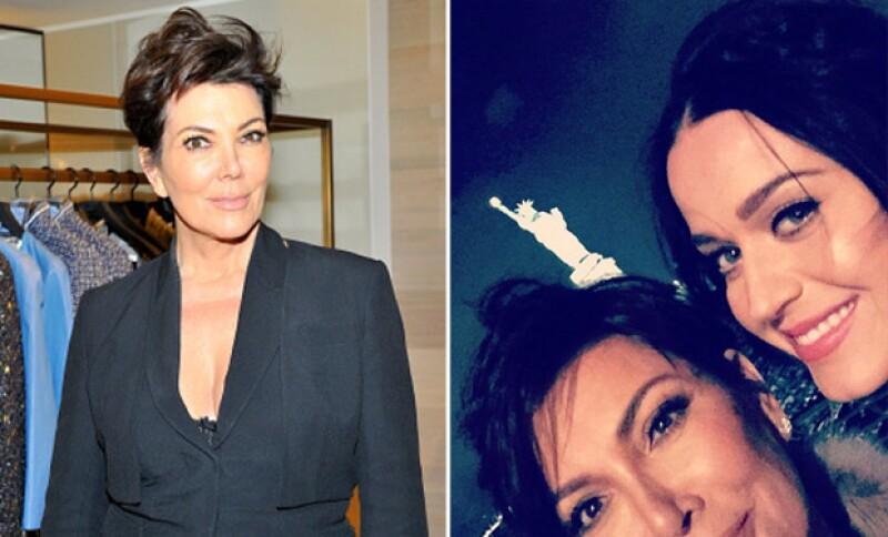 Kris y Katy se divirtieron juntas en un evento de Chanel hace algunos días.