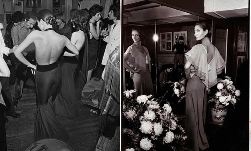 Su trabajo siempre fue impecable. Aqui Vogue 1971 (izquierda) y 1972 (derecha)