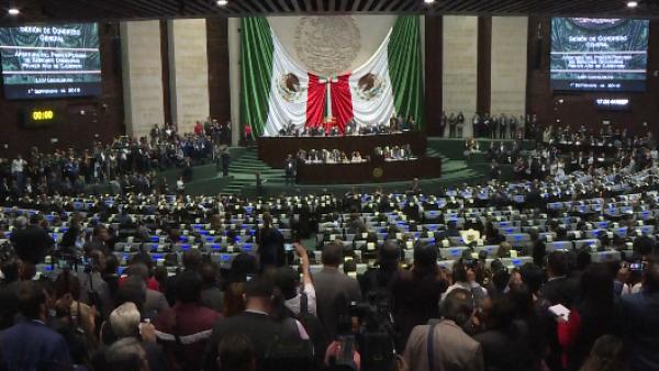 El nuevo Congreso mexicano arranca sesiones