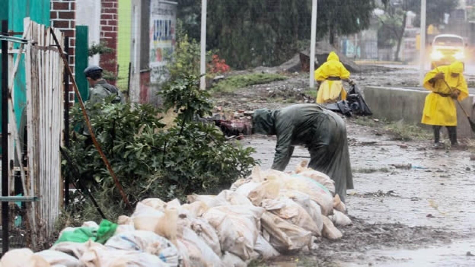 lluvias aguas negras Ixtapaluca