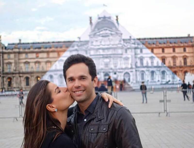 Bárbara y Alejandro han disfrutado al máximo su estancia en la capital francesa.