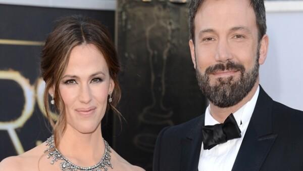 Jennifer y Ben duraron 10 años de casados y tuvieron tres hijos.