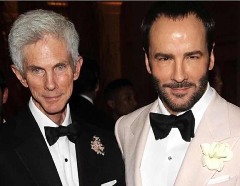 Tom Ford y su esposo Richard Buckley tienen un hijo de dos años; Alexander John Buckley Ford.