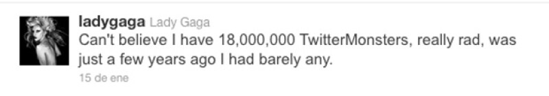 La cantante neoyorkina rompió récord de seguidores al rebasar los 18 millones.