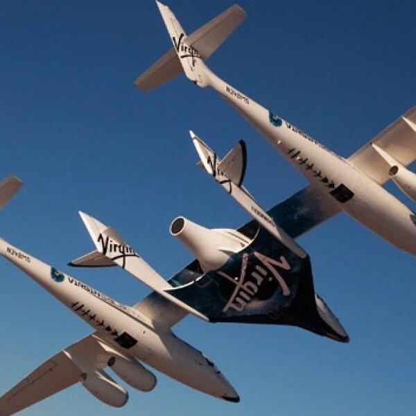 Nave nodriza de transporte espacial Virgin Galactic