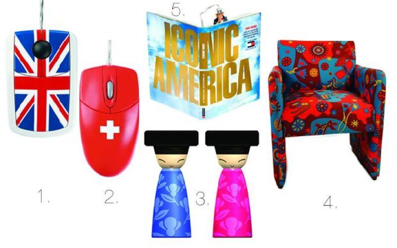 Los accesorios de look internacional son ideales para darle un toque original y divertido a cualquier rincón del hogar.