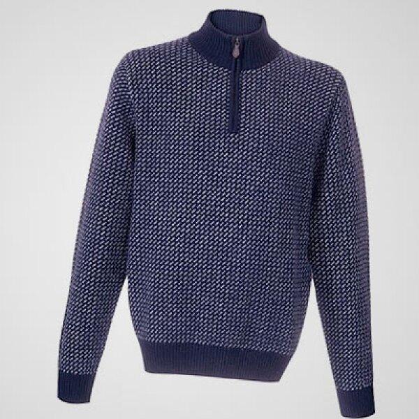 El verano llegó a México: es hora de abrigarse. Por suerte, la firma estadounidense Brooks Brothers te ofrece algunas recomendaciones como este suéter de punto y cierre al medio.