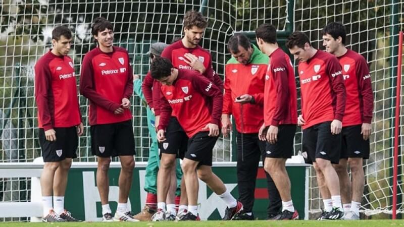 Entrenamiento de Athletic de Bilbao