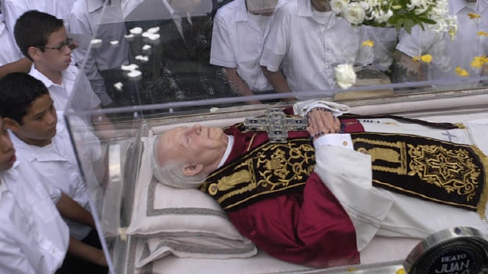 Juan Pablo II reliquias