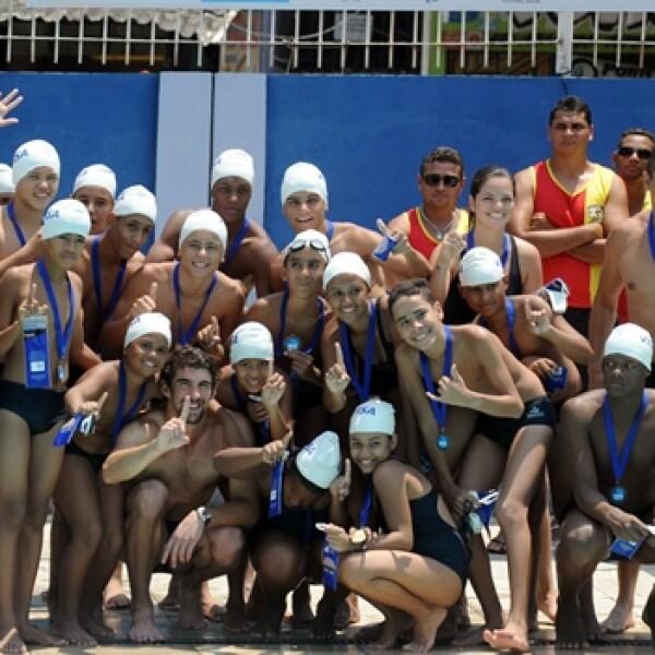 Michael Phelps - Río de Janeiro favela 6