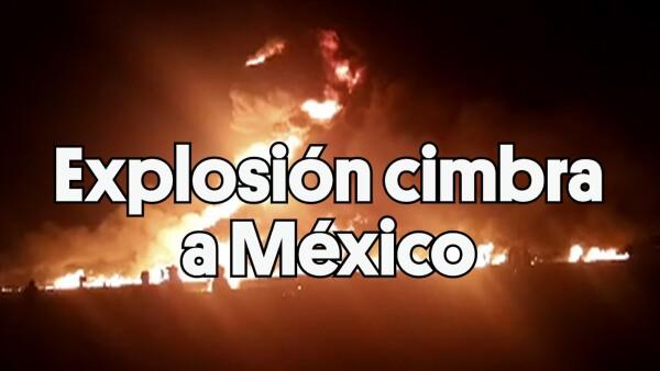 ClipADN | Explosión cimbra a México