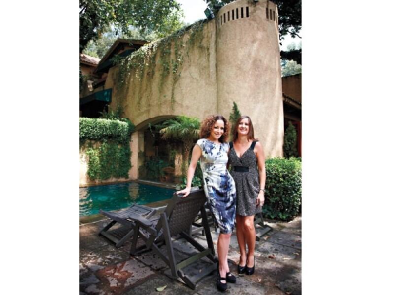 LA ESPECIALISTA. Su hermana, la arquitecta Karina Carpinteyro, se encargó de la remodelación de la casa, que le tomó un año aproximadamente.