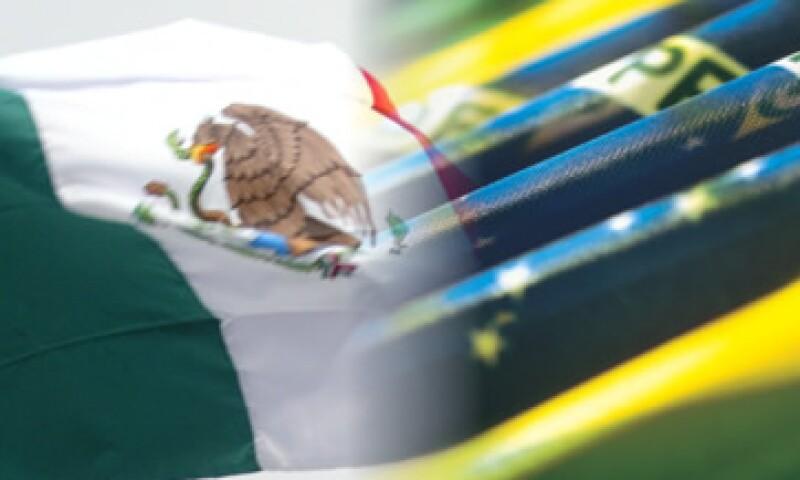 Entre Brasil y México suman 80% de las exportaciones latinoamericanas. (Foto: Thinkstock)