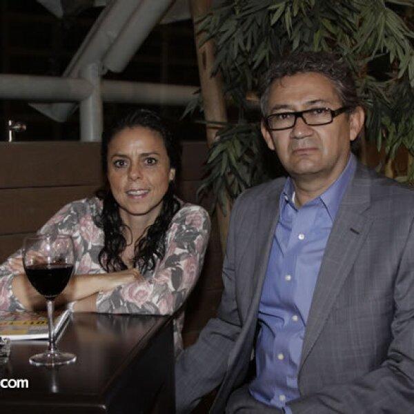 Lucía Sánchez y Antonio Rosas