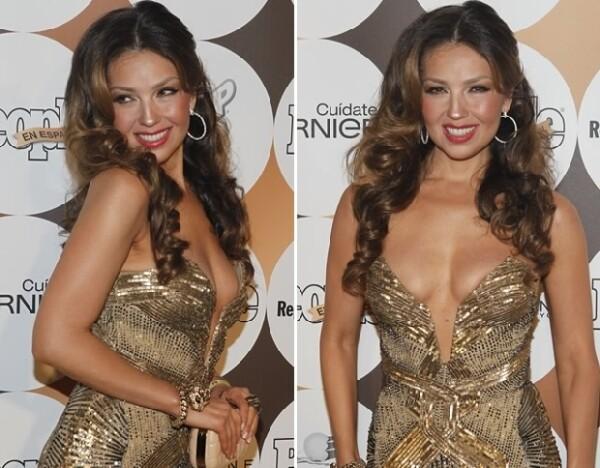 Thalía fue toda una chica dorada.
