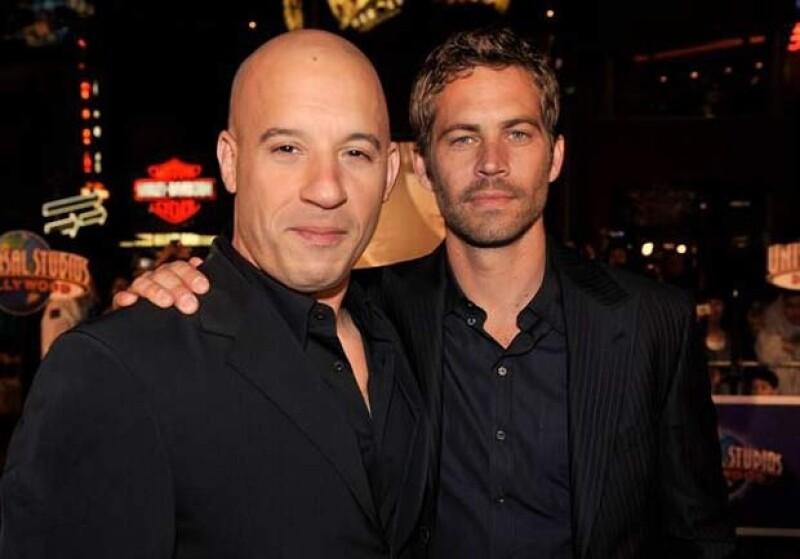 Vin Diesel compartió un emotivo mensaje tras la muerte de Paul Walkr, a quien llamó su hermano.