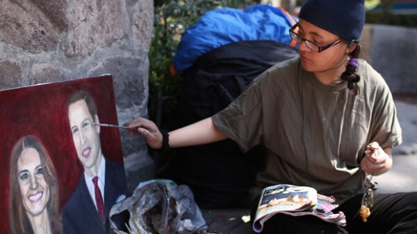 Estíbaliz Chávez, quien permaneciera en huelga de hambre por más de 10 días frente a la embajada británica en México, vuelve a ve frustrado su deseo de asistir a la boda real.