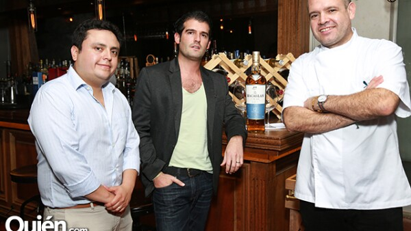 Roberto Aguilar,Raul González y Alfredo Villanueva