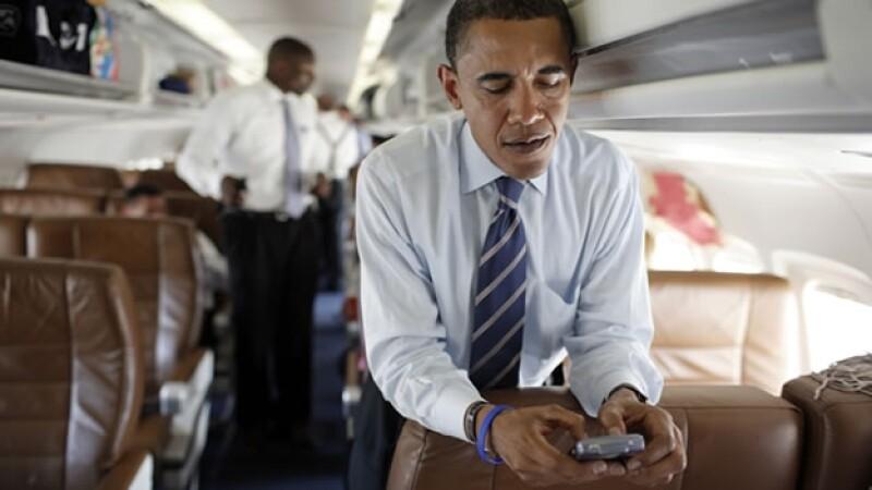 celular, movil, barack, tuit, tuitear