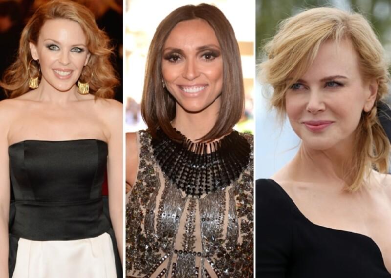 Ayer la actriz dio a conocer que se sometió a una doble mastectomía para prevenir el cáncer y muchas famosas le han demostrado su admiración y cariño.