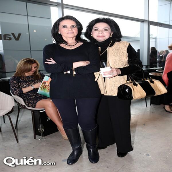 Paulina Henkel y Bibi Nacif