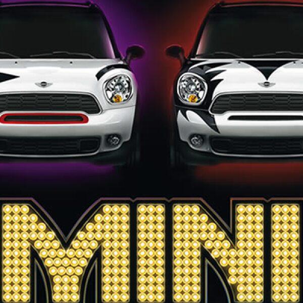 La automotriz especificó que estos vehículos en los que se pintó el diseño del maquillaje de Kiss, son estilo Countryman, con una velocidad superior a los 250 kilómetros por hora.