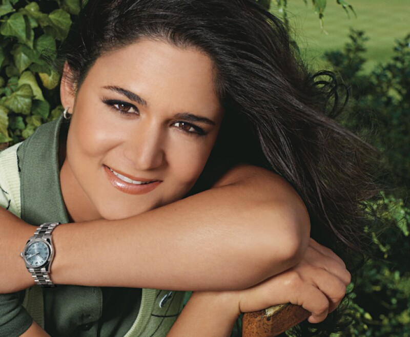 Lorena Ochoa es la máxima ganadora del Premio Nacional de Deportes luego de recibir este reconocimiento por tres años consecutivos del 2004 al 2007.  (Foto: Cortesía Rolex. )