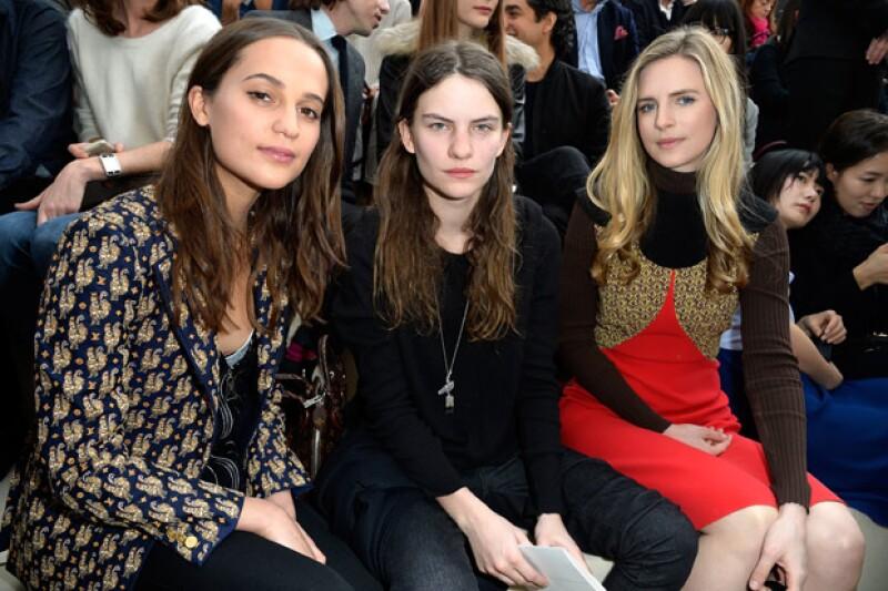 Desde siempre en front row. Aquí en Paris Fashion Week Otoño-Invierno 2015.