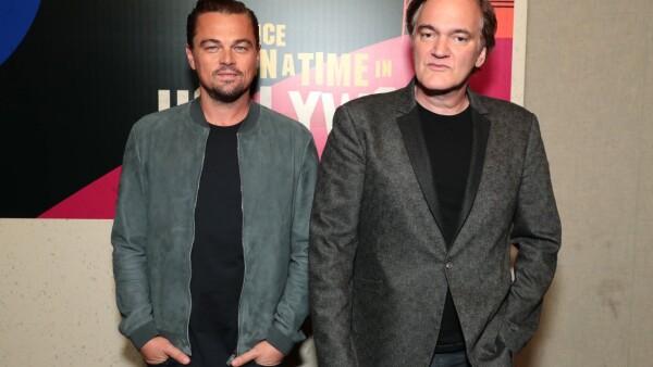 Leonardo DiCaprio y Quentin Tarantino