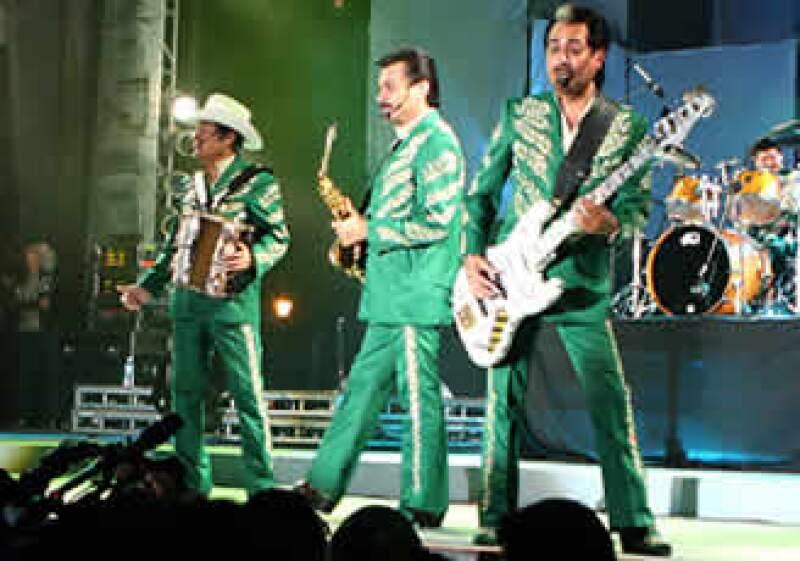 Los Tigres del Norte realizarán el concierto el 12 de agosto.  (Foto: Notimex)