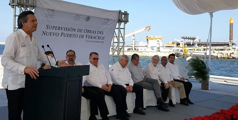 Entrega primera etapa Nuevo Puerto de Veracruz