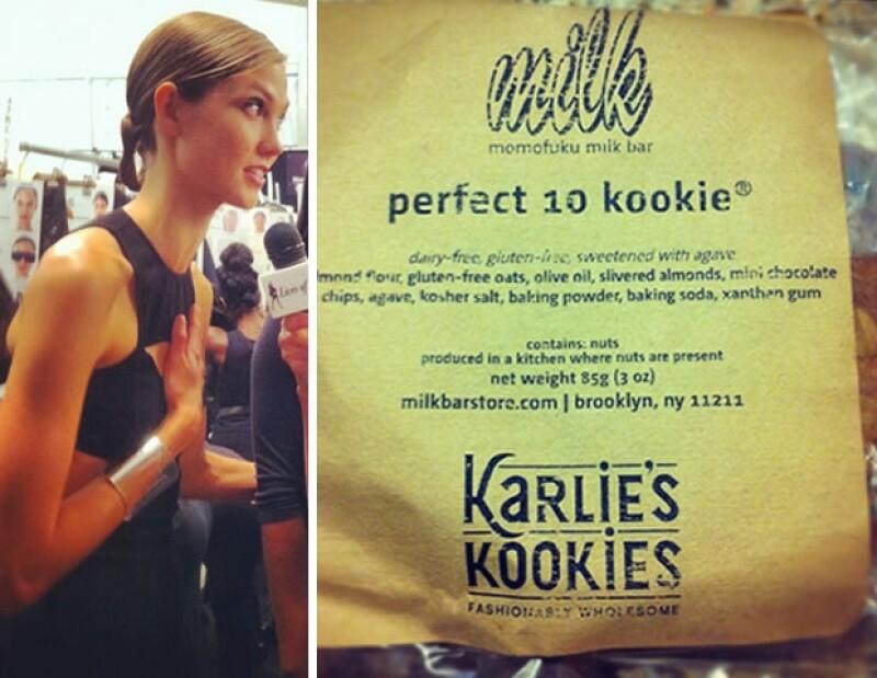 Karlie Kloss y sus galletas hechas en casa.