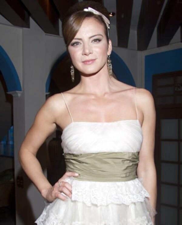 Silvia Navarro tiene 34 años.