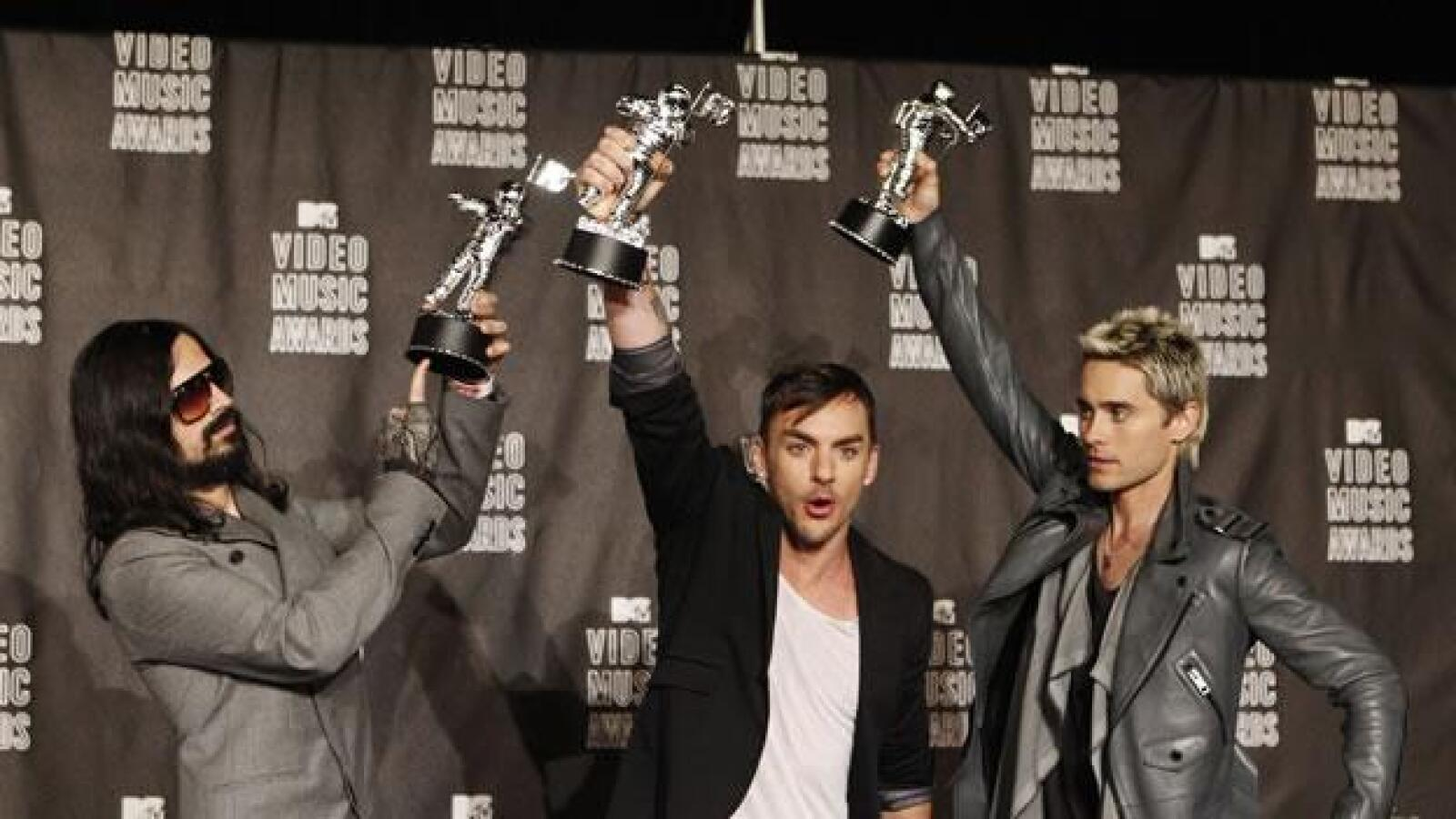 30 seconds to mars MTV 2010